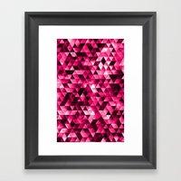 Stainded Framed Art Print