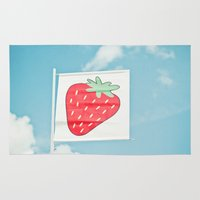 Strawberry Sky Rug