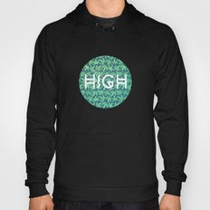 HIGH TYPO! Cannabis / Hemp / 420 / Marijuana  - Pattern Hoody