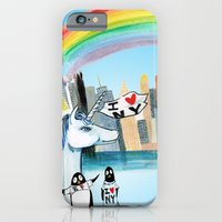 Unicorn Penguin Love NYC iPhone 6 Slim Case
