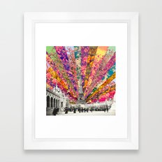 Vintage Paris Framed Art Print