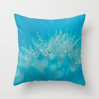 Make Your Wish Throw Pillow