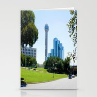 Reunion Tower, Dallas Stationery Cards