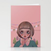 Hello, Miss Bunny Stationery Cards