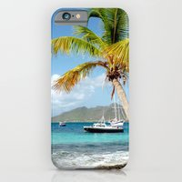 iPhone & iPod Case featuring isle of calm by Sheana Firth