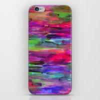 Neon Wash #2 iPhone & iPod Skin