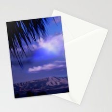 SUNDOWN IN PALM SPRINGS Stationery Cards