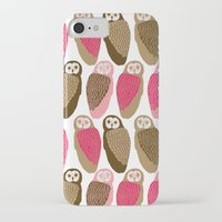 owls iPhone & iPod Cases featuring Owls by Lydia Meiying