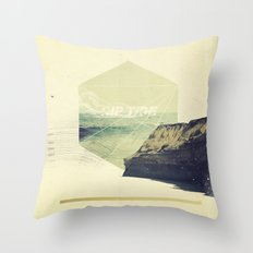 Rip Tide Throw Pillow