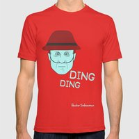 Breaking Bad - Faces - Hector Salamanca Mens Fitted Tee Red SMALL