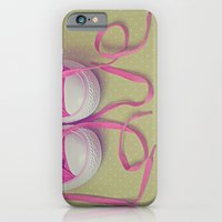 iPhone & iPod Case featuring Shoes Love by Debbie Wibowo