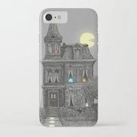 pattern iPhone & iPod Cases featuring Haunted by the 80's by Terry Fan