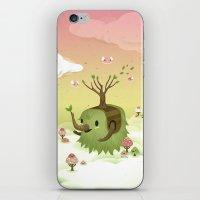Mossiphants iPhone & iPod Skin