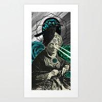 Ancient Spells Art Print