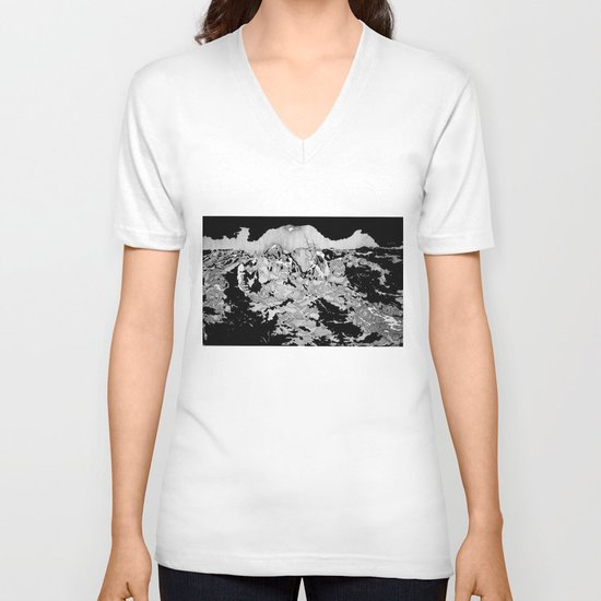 Swallowed By The Sea V-neck T-shirt
