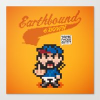 Earthbound & Down Canvas Print