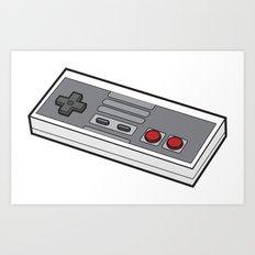 NES Art Print