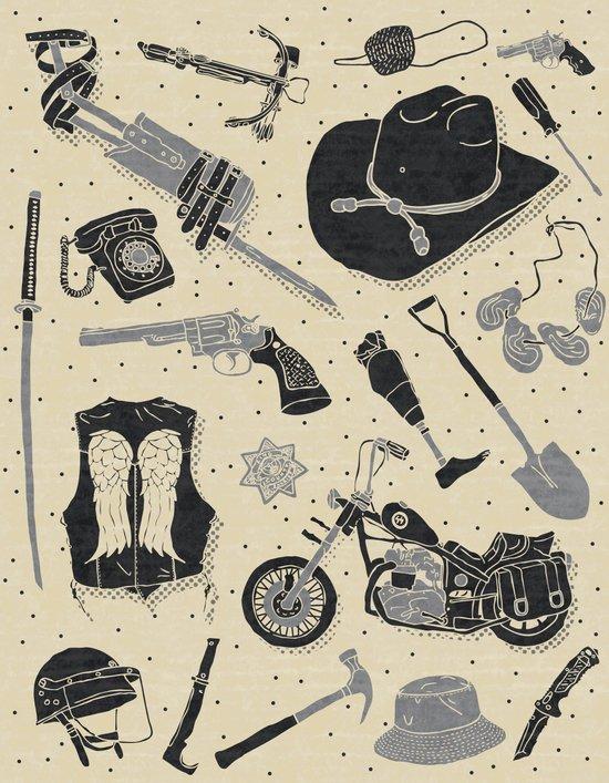 Artifacts: Walking Dead Art Print