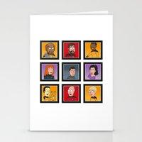 The Family Star Trek Bun… Stationery Cards