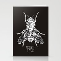 TROUBLE RIPPER / TROUBLE FLY Stationery Cards