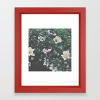 Busy Bee. Framed Art Print