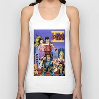 Unisex Tank Top featuring Double Dragon II by Jack Teagle