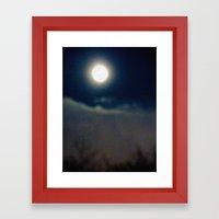 Symphony Of Moon Framed Art Print
