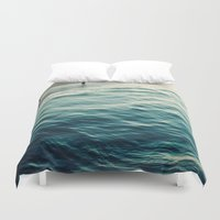 You, Me, and The Sea  Duvet Cover