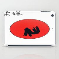 Art Of Judo Print iPad Case