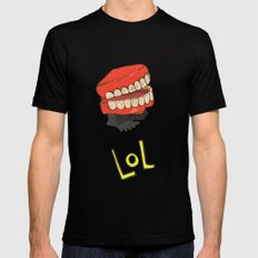 lol Mens Fitted Tee SMALL Black