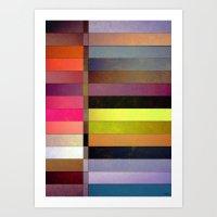 Colorsplit Art Print