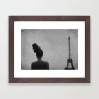 rooftop soliloquy Framed Art Print