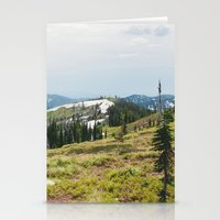 BITTERROOT MOUNTAINS  Stationery Cards