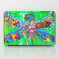 PARROFLY WITH ME! iPad Case
