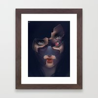 Under Her Skin III Framed Art Print