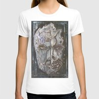 Beyond Repair Womens Fitted Tee White SMALL