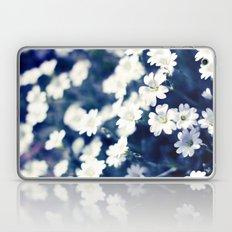 Flowers On A Cool Brooklyn Morning Laptop & iPad Skin