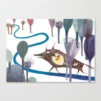 Tom Thumb Canvas Print