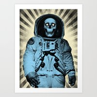 Punk Space Kook Art Print