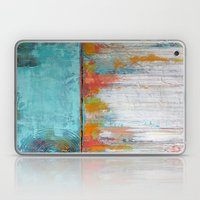 Coral Reef - Textured Abstract Art - Acrylic on Canvas Painting Laptop & iPad Skin