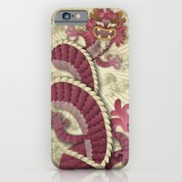 iPhone & iPod Case featuring dragon delight by wanton doodle