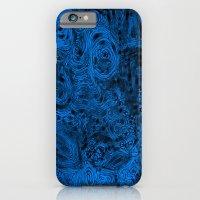 iPhone & iPod Case featuring Crazy blue by Mi Nu Ra