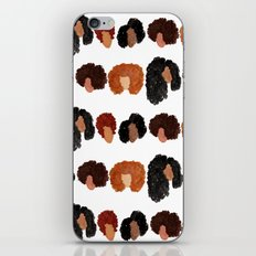 Natural Hair Girls iPhone & iPod Skin