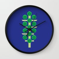 Vegetable: Brussels Spro… Wall Clock