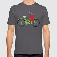 Christmas Presents Mens Fitted Tee Asphalt SMALL