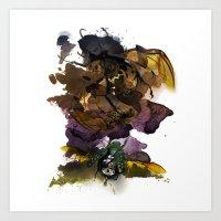 InkyBugs Art Print