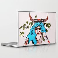 native Laptop & iPad Skins featuring Native by lesinfin