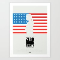 Zero Dark Thirty - Minim… Art Print