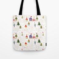 Christmas Is Coming! Tote Bag