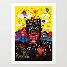 Bright Magic Day Art Print